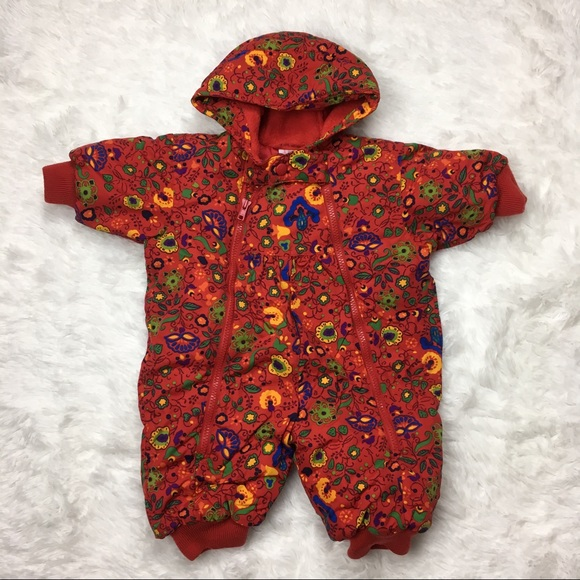 f587dc248 Hanna Andersson Jackets & Coats | Red Hooded Snowsuit Bunting | Poshmark